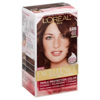 L'Oreal® Paris Excellence® Crème Triple Protection Hair Color in 5RB Medium Red Brown