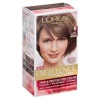 L'Oreal® Paris Excellence® Crème Triple Protection Hair Color in 6 Light Brown