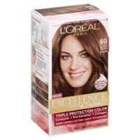L'Oreal® Paris Excellence® Crème Triple Protection Hair Color in 6G Light Golden Brown