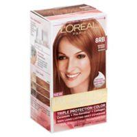 L'Oreal® Paris Excellence® Crème Triple Protection Hair Color in 8RB Reddish Blonde