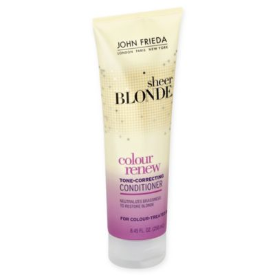 John Frieda Sheer Blonde 8.45 oz. Color Renew Conditioner