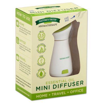Nature S Truth Essential Oil Mini Diffuser