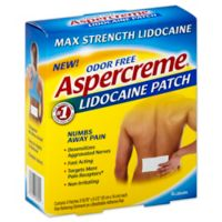 Aspercreme 5-Count Lidocaine Patches