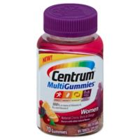 Centrum® MultiGummies® 70-Count Multivitamin for Women in Cherry, Berry & Orange