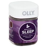 OLLY™ 50-Count Restful Sleep Gummies in Blackberry Zen