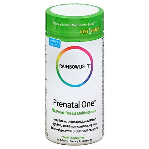 Rainbow LightR Prenatal OneTM 50 Count Multivitamin