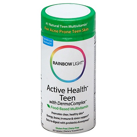 rainbow light active teen 60 count multivitamin tablets is not. Black Bedroom Furniture Sets. Home Design Ideas