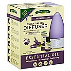 Nature's Truth® Aromatherapy Essential Oil Diffuser Holistic Starter Pack in Lavender