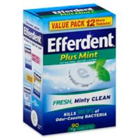 Efferdent® Plus Mint 90-Count Anti-Bacterial Denture Cleanser Tablets