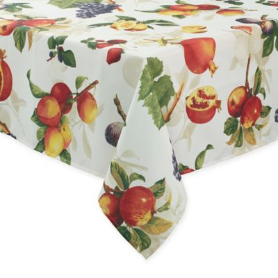 Basics Fruitique 70 Inch Square Tablecloth