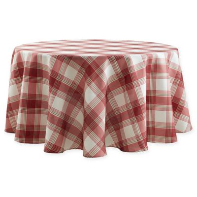 Basics Tuscan Plaid Tablecloth