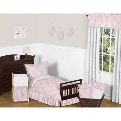 toddler bedding sets sweet jojo designs 5 piece toddler bedding set in pink - Toddler Bed Sets