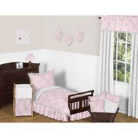Sweet Jojo Designs 5-Piece Toddler Bedding Set in Pink/Grey