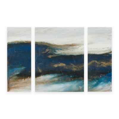 Ink+Ivy Rolling Waves Wall Art (Set of 3)