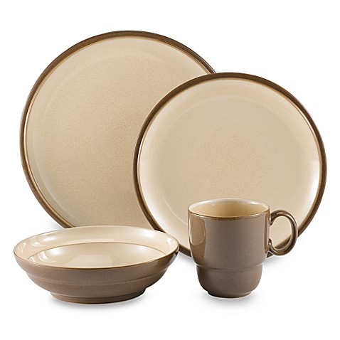 Everyday 16-Piece Dinnerware Set by Denby - Cappuccino  sc 1 st  Bed Bath \u0026 Beyond & Everyday 16-Piece Dinnerware Set by Denby - Cappuccino - Bed Bath ...
