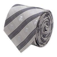 Star Wars™ Stormtrooper Plaid Tie in Grey