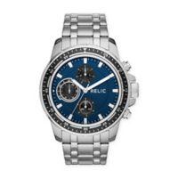 Relic® Heath Men's Multifunction Bracelet Watch in Stainless Steel