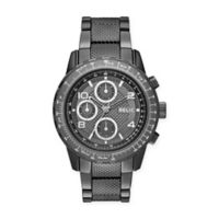 Relic® Men's 47mm Ryder Watch in Gunmetal Stainless Steel with Gunmetal Dial
