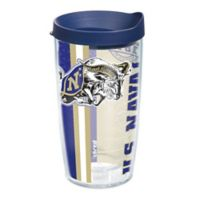 Tervis® Naval Academy Midshipmen 16 oz. Pride Wrap with Lid