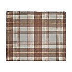 J. Queen New York™ Livingston Plaid Placemat in Mocha