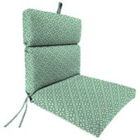 Outdoor Dining Seat Cushion in In the Frame Oasis