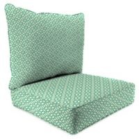 Outdoor 2-Piece Deep Seat Cushion in In the Frame Oasis