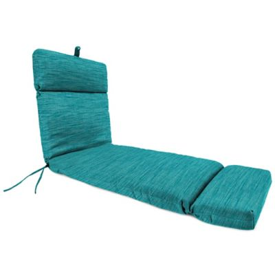 Outdoor Chaise Lounge Cushion in Remi Lagoon  sc 1 st  Bed Bath u0026 Beyond : thin chaise lounge cushions - Sectionals, Sofas & Couches