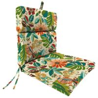 Outdoor Dining Seat Cushion in Lensing Jungle