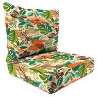 Print 24-Inch Deep Seat Chair Cushion in Lensing Jungle