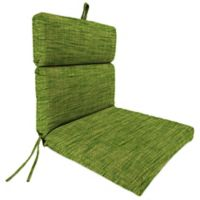 Outdoor Dining Seat Cushion in Remi Palm