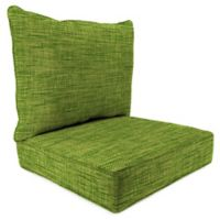 Outdoor 2-Piece Deep Seat Cushion in Remi Palm