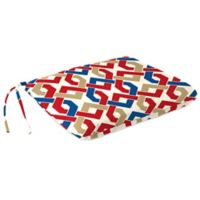 Outdoor Dining Seat Pad Cushion in Rieser Patriot