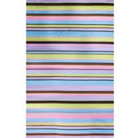 Concord Global Alisa Stripes 2-Foot 7-Inch x 4-Foot 1-Inch Accent Rug in Multicolor