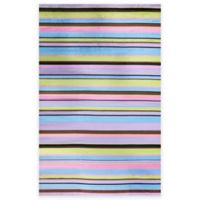Concord Global Alisa Stripes 5-Foot x 7-Foot Area Rug in Multicolor