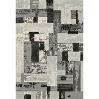 Feizy Mida Blocks 8-Foot x 11-Foot Area Rug in Slate