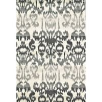 Feizy Mida Ikat 8-Foot x 11-Foot Area Rug in Charcoal