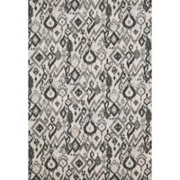 Feizy Mida Tribal Ikat 8-Foot x 11-Foot Area Rug in Pewter