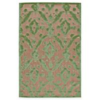Feizy Tahla I 2-Foot 1-Inch x 4-Foot Accent Rug in Tan/Light Green