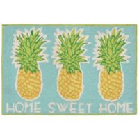 Trans Ocean Front Porch Home Sweet Home Indoor/Outdoor Door Mat