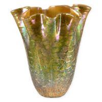 Dale Tiffany Prismatic Ruffle Vase