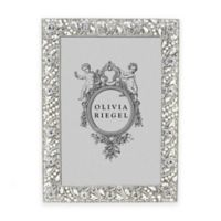 Olivia Riegel 5-Inch x 7-Inch Eloise Picture Frame in Silver