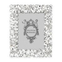 Olivia Riegel 5-Inch x 7-Inch Swarovski® Crystal and Rhinestone Accented Roxy Picture Frame