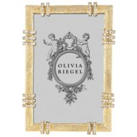 Olivia Riegel Cassini 4-Inch x 6-Inch Picture Frame in Gold