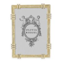 Olivia Riegel Cassini 5-Inch x 7-Inch Picture Frame in Gold