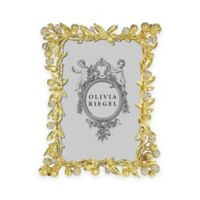 Olivia Riegel Cornelia 4-Inch x 6-Inch Picture Frame in Gold