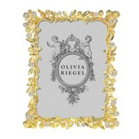 Olivia Riegel Cornelia 5-Inch x 7-Inch Picture Frame in Gold
