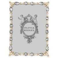 Olivia Riegel Margot 5-Inch x 7-Inch Picture Frame in Gold