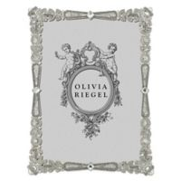 Olivia Riegel Waldorf 5-Inch x 7-Inch Picture Frame in Silver