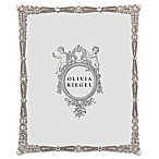 Olivia Riegel Waldorf 8-Inch x 10-Inch Picture Frame in Silver