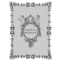 Olivia Riegel Luxembourg 5-Inch x 7-Inch Picture Frame in Silver